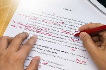 editing and proofreading level 3